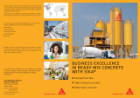 Business excellence in ready-mix concrete with Sika